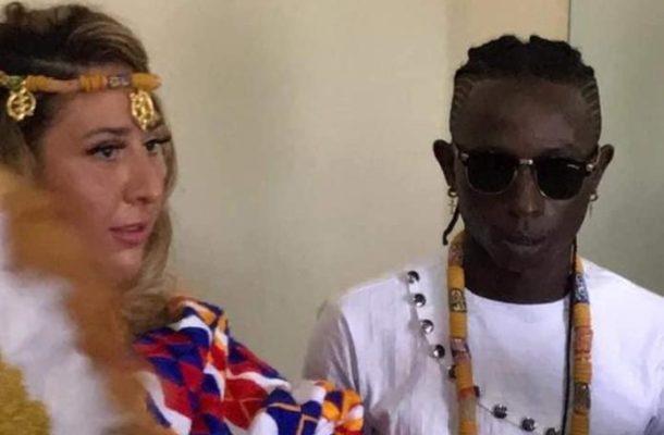PHOTOS: Patapaa marries German girlfriend Liha Miller