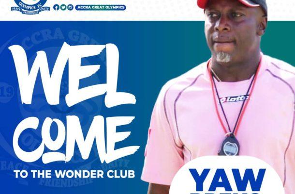 Just In: Former Ghana U-20 coach Yaw Preko appointed new Great Olympics coach