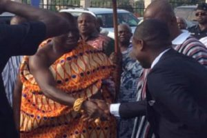 Otumfuo shook my hands and said 'you are truly a great man' - Santana brags
