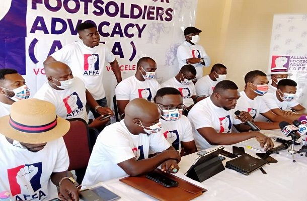 Consider us with appointments or forget 2024 - NPP footsoldiers to Akufo-Addo