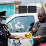 Bantama MP, Asenso-Boakye donates two pickup trucks to Suntreso, Bohyen police