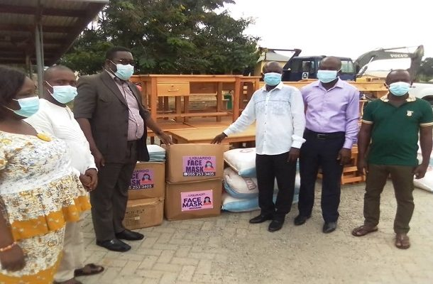 Atiwa West DCE presents furniture, uniforms, others to over 30 schools