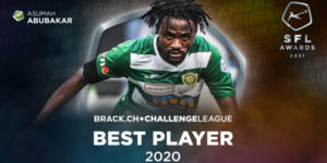 Asumah Abubakar-Ankrah named best player in Swiss Challenge League 2020