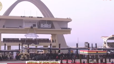 LIVESTREAMING: State Funeral for ex-president Rawlings