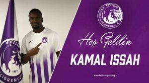 Kamal Issah joins lower tier Turkish side Keçiorengucu