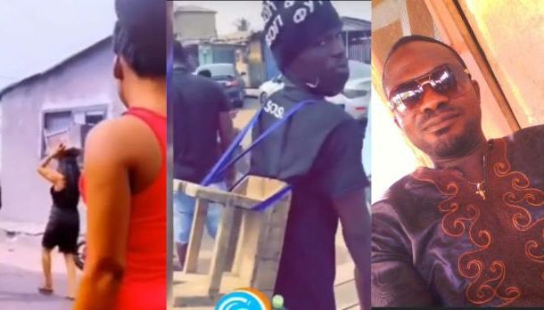 VIDEOS: Youth besiege funeral of late headmaster with kitchen stools; demonstrate legendary sex position
