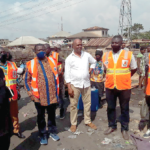 Nadmo Director General visits fire scenes in Kumasi