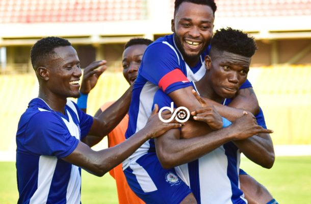 Maxwell Abbey Quaye's penalty goals hands Olympics victory over Inter Allies
