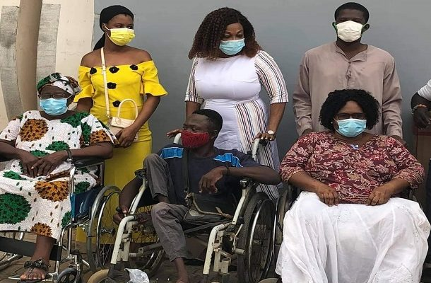 PHOTOS: Otiko Djaba donates 59 wheelchairs to PWDs at 59th birthday