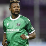Patrick Twumasi climbs off the bench to score in Hannover's big win