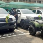 Spanish Government presents vehicles to Ghana