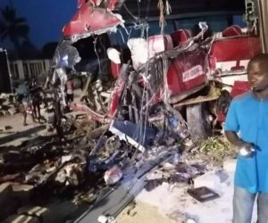 PHOTOS: 16 persons dead in a glory accident on Accra-Kumasi highway