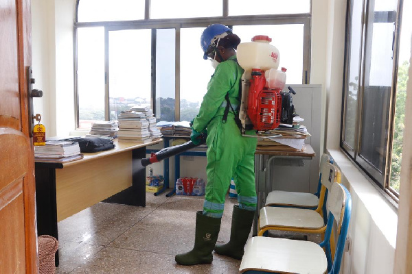 COVID-19: Noguchi appeals for monthly disinfection exercise