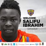 Hearts of Oak officially announce the signing of Salifu Ibrahim