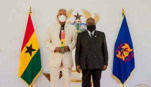 Koku Anyidoho gushes over Prez Akufo-Addo's photo with E.T. Mensah