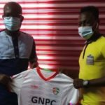 Former Hearts striker Maxwell Boakye returns into GPL after singing for Karela United