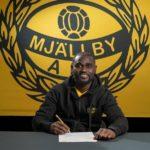 Enoch Adu Kofi joins Swedish side Mjalby AIF