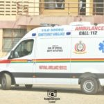 Armed robbers shoot ambulance driver conveying pregnant woman to hospital