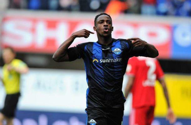 Black Stars winger Christian Antwi-Adjei scores winner for SC Paderborn