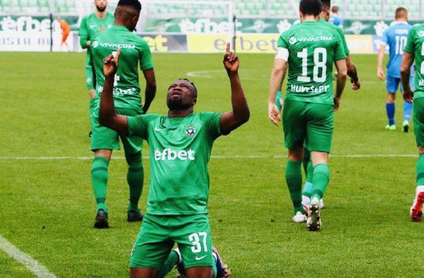 Bernard Tekpetey's solitary strike gives Ludogorets Razgrad win