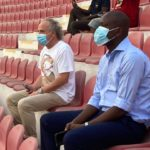 Black Stars coach and Technical Director watch Mantse derby