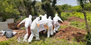 COVID-19 burial team complains over lack of resources
