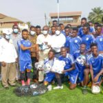 Accra Mayor, others donate cash to Olympics after Hearts triumph