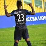 DOL: Lethal Evans Etti scores 6th goal for Accra Lions in win against Uncle T Utd