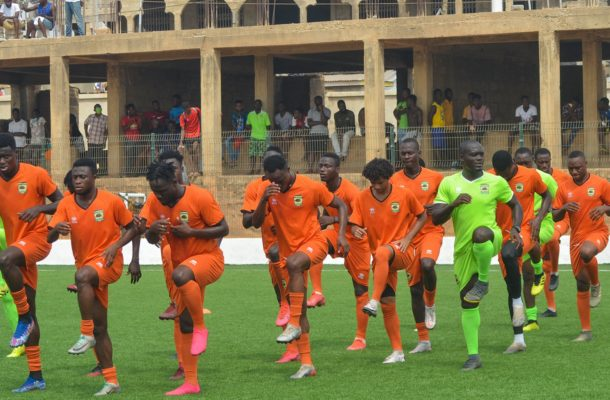 PHOTOS: Kotoko hold final training session before traveling to face ES Setif
