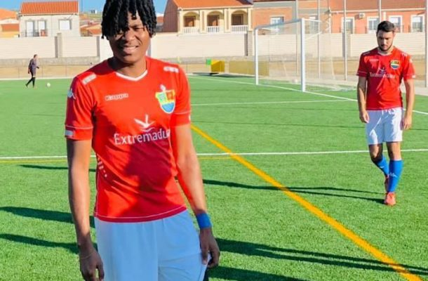 I was transferred to Spain by Star Makers Fc and not Legon Cities - Awuley Abdul Rahman
