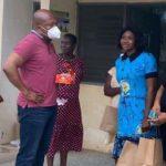 Okudzeto Ablakwa surprises healthcare workers with free lunch, chocolates
