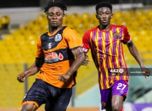 VIDEO: Watch highlights of Hearts of Oak's 1-1 draw with Legon Cities