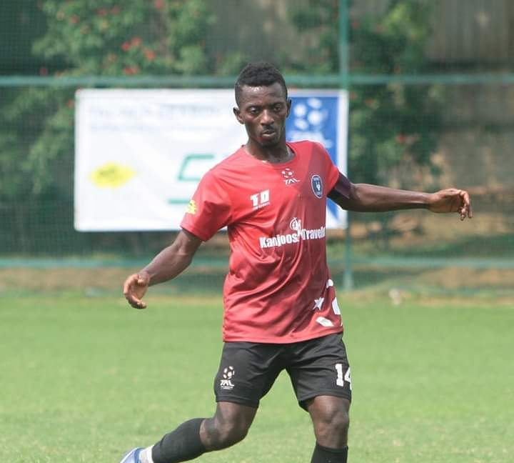 India based Ghanaian footballer P  Pledges to Support GFA to Revive Juvenile Football