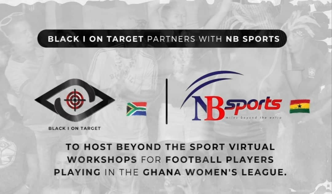 NB Sports Live joins Black I On Target in organising  Virtual Workshop for women's football