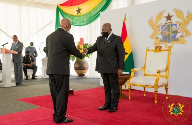"""""""Be proactive partners in nation-building"""" Akufo-Addo to Council of State"""