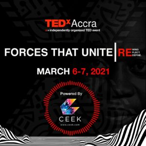 TEDxACCRA announces partnership W  with CEEK VR and lineup of exciting speakers