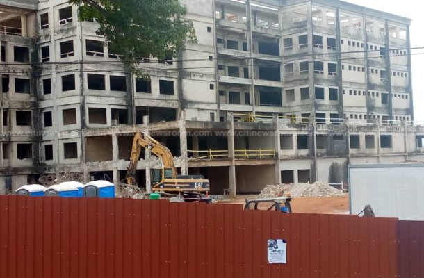 44-year-old uncompleted KATH maternity block to be demolished