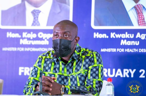 First batch of COVID-19 vaccines expected to arrive today - Oppong Nkrumah hints