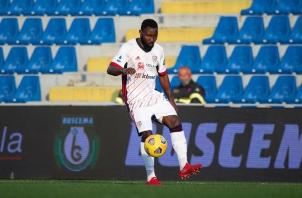 Kwadwo Asamoah makes Serie A debut for Cagliari in win over Crotone