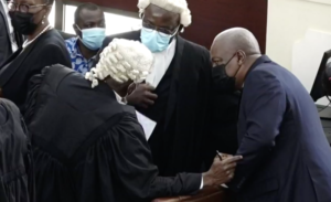 Mahama's counsel files closing argument for election petition