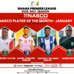 Diawusie Taylor headlines four man shortlist for NASCO player of the month January
