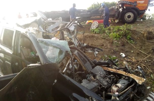 3 foreigners killed in gory accident at Gomoa Okyereko