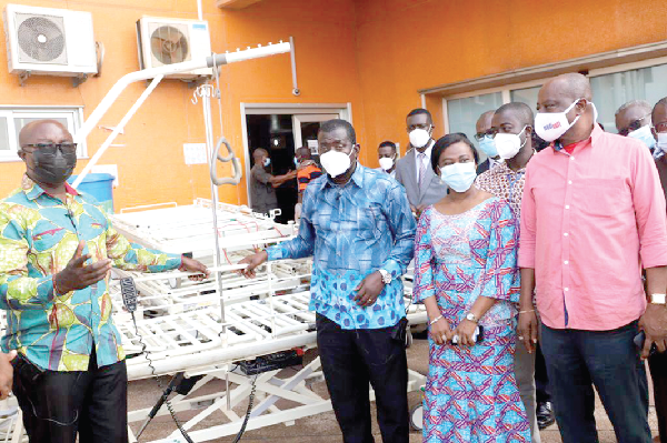 Rebecca Foundation supports three health institutions in Kumasi