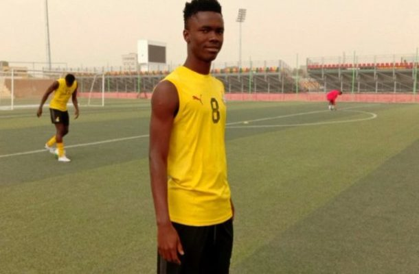 CAF U-20 AFCON: Concussed Sampson Agyapong in stable condition after horror clash in Morocco tie