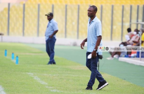Coach Nii Noi announces Hearts' starting line up against Liberty with 4 changes