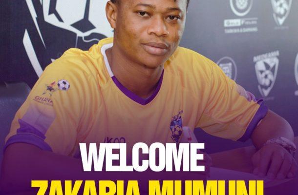 OFFICIAL: Zakaria Mumuni joins Medeama