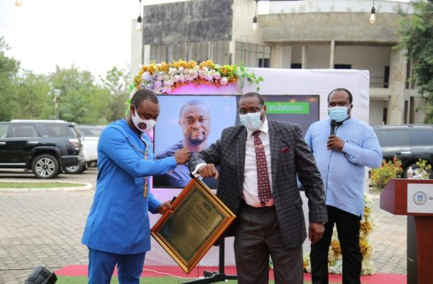 Council of State member Atikpo honoured
