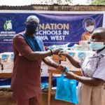 Awuah Dankwa Education Foundation donates books, PPE to basic schools in Atiwa