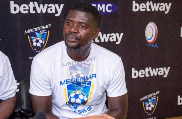 Medeama should stop saying they gave me the platform, I came to work for them - Coach Samuel Boadu