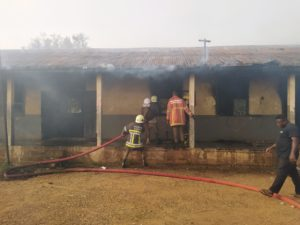 Fire destroys portions of Sunyani Municipal primary school